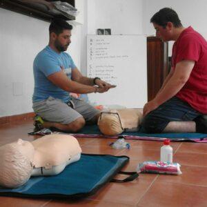 PADI Emergency First Response en Lanzarote